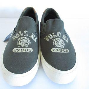Polo Ralph Lauren Sneakers Tiger Logo Slip On New